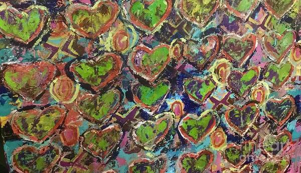 Painting - Love And Money by Sherry Harradence