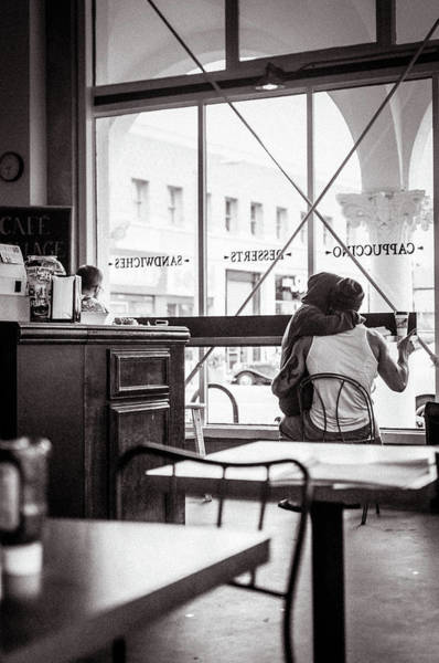 Wall Art - Photograph - Love At Cafeteria by Rosangela Lima