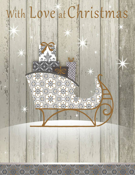 Wall Art - Digital Art - Love At Christmas by P.s. Art