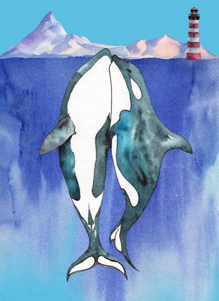 Digital Art - Love At Sea - Painting by Ericamaxine Price