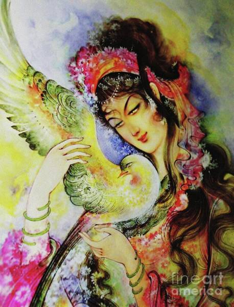 Painting - Heavenly Affection by Qasir Z Khan