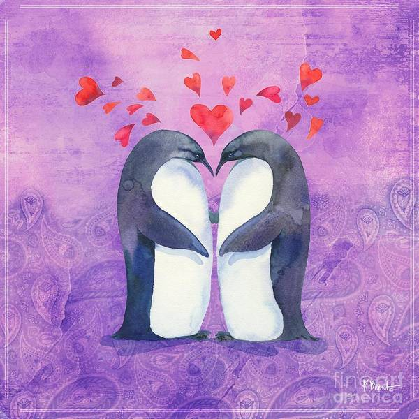Wall Art - Painting - Love Birds II by Paul Brent