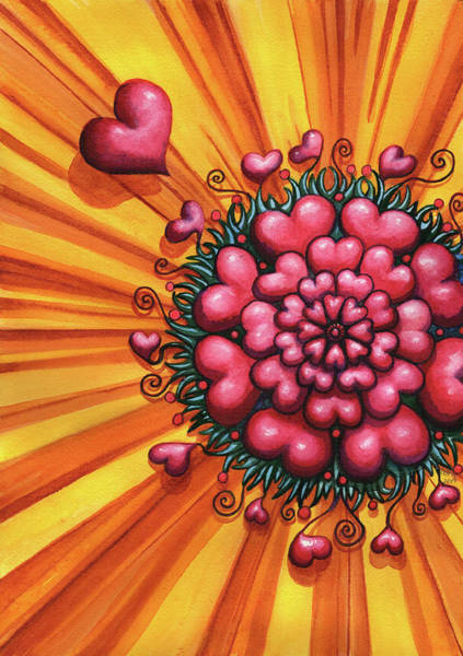 Painting - Love Blossom by Catherine G McElroy