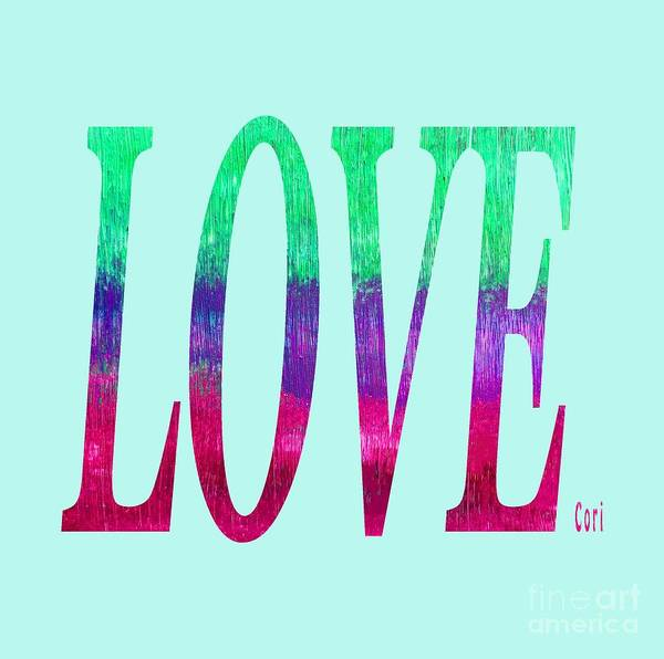 Digital Art - Love by Corinne Carroll