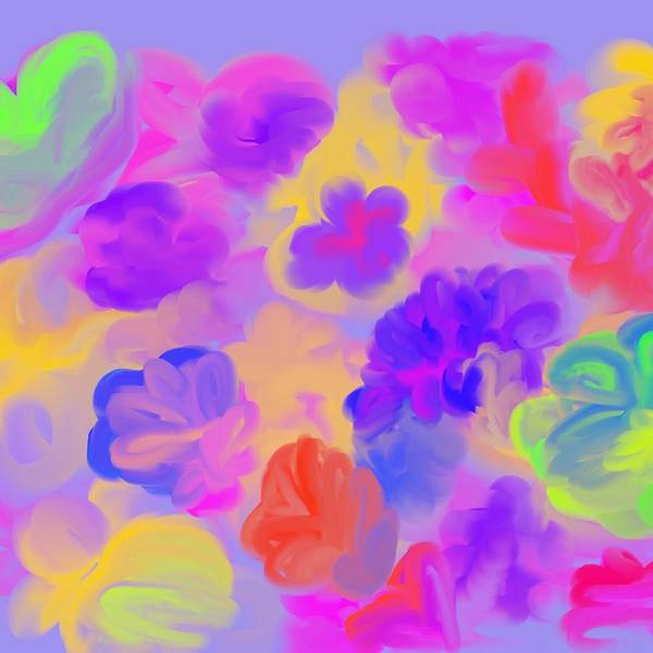 Wall Art - Digital Art - Love Equals Love by Joan Ellen Kimbrough Gandy