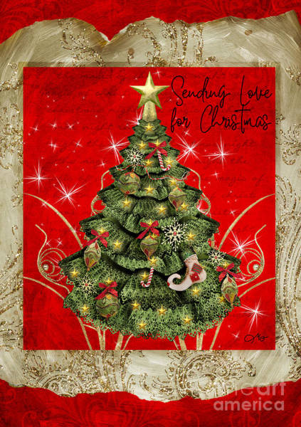 Wall Art - Digital Art - Love For Christmas by Mo T