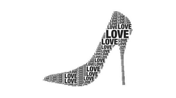 Digital Art - Love In High Heels by Alice Gipson