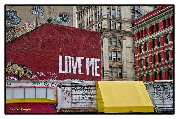 Photograph - Love In New York City  by Harriet Feagin