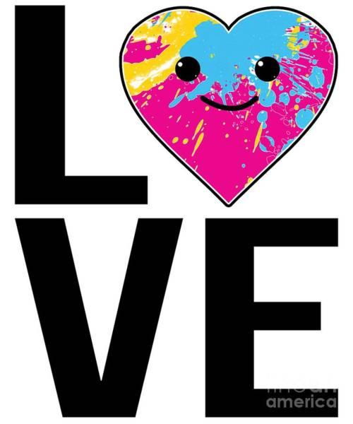 Digital Art - Love Kawaii by Flippin Sweet Gear