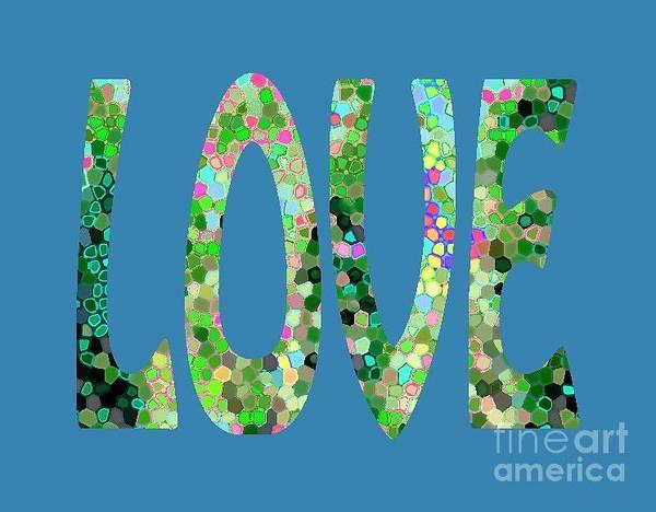 Digital Art - Love Letters 5 by Corinne Carroll