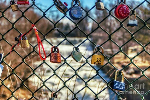 Photograph - Love Locks by Jim Lepard