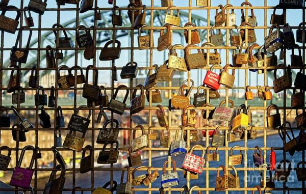 Photograph - Love Locks by Martyn Arnold