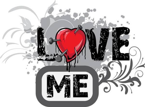 Digital Art - Love Me by Passion Loft
