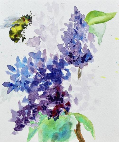 Painting - Love Of Lilacs by Beverley Harper Tinsley