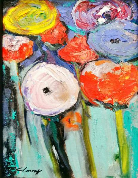 Painting - Love Of Poppies by Constance Paul