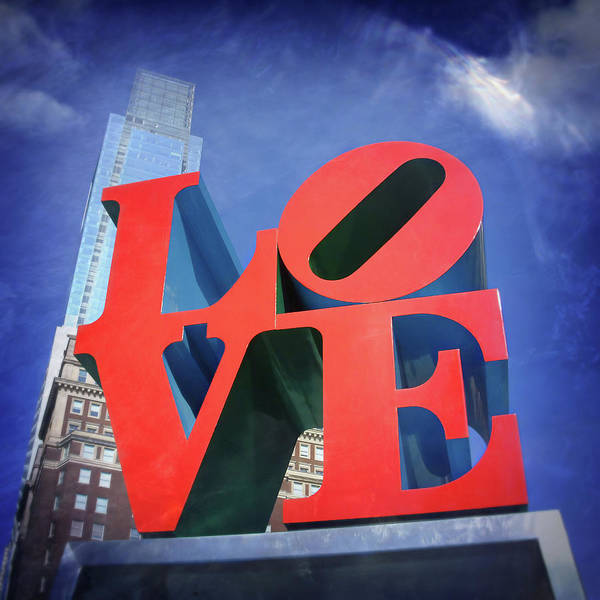 Wall Art - Photograph - Love Philly  by Carol Japp