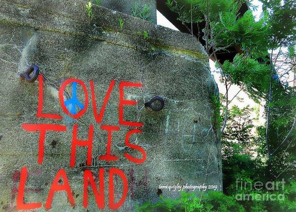 Photograph - Love This Land  by Tami Quigley
