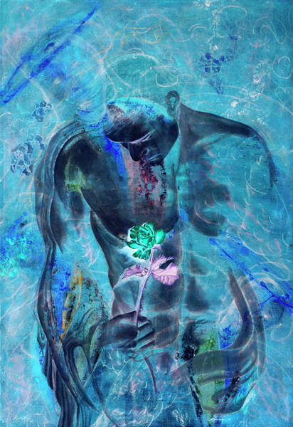 Mixed Media - Love Undenied by Giorgio Tuscani