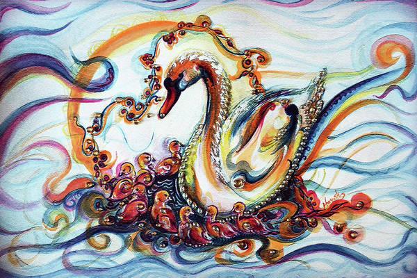 Wall Art - Painting - Love Is Wild  by Harsh Malik