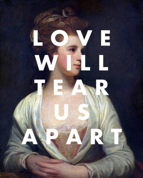 Digital Art - Love Will Tear Us Apart by Georgia Fowler