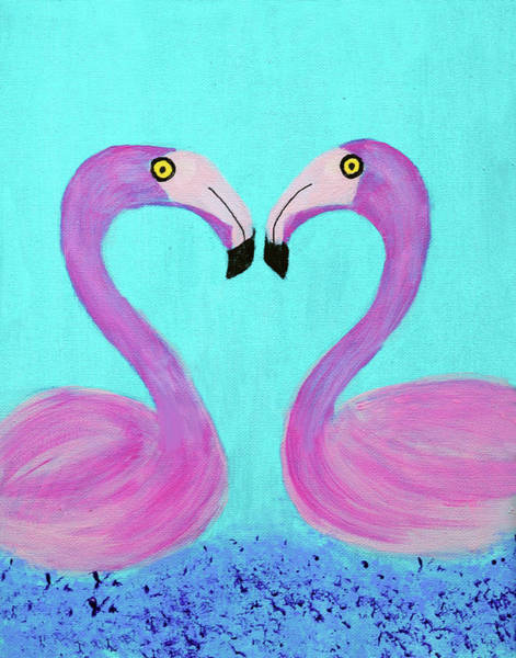 Painting - Lovebirds by Deborah Boyd