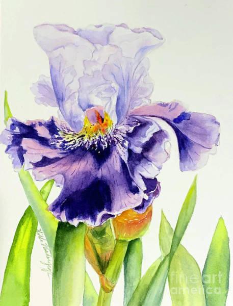 Painting - Lovely Iris by Hilda Vandergriff