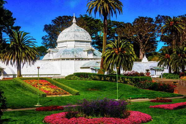 Wall Art - Photograph - Lovely Old Conservatory Of Flowers by Garry Gay