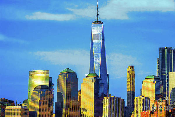 Wall Art - Photograph - Lover Manhattan Standout-one World Trade by Regina Geoghan