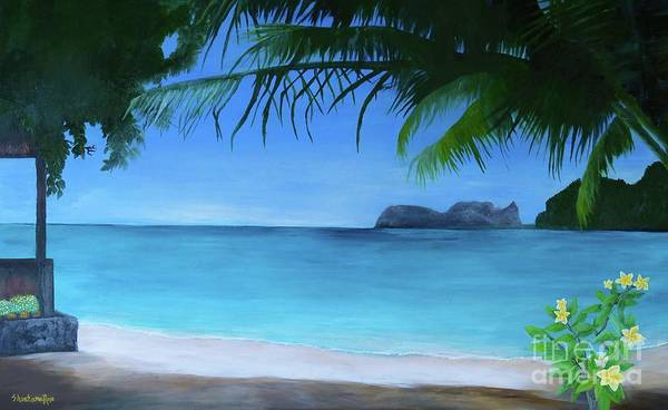 Painting - Lovers Cove by Sabine ShintaraRose