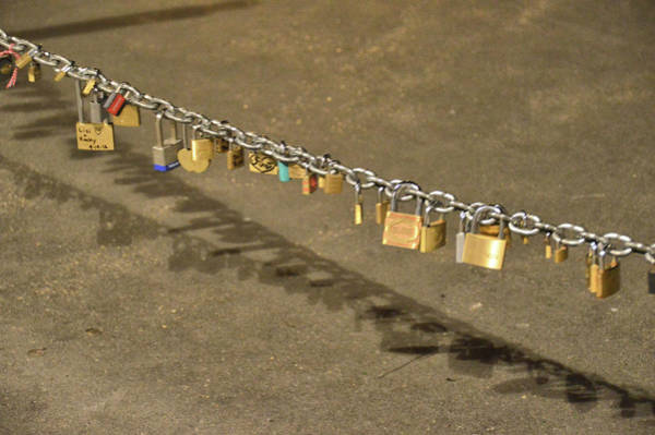 Photograph - Lovers Locks by JAMART Photography