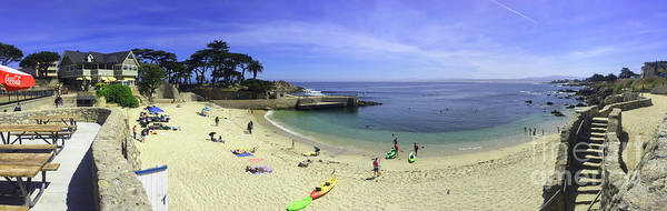 Photograph - Lovers Point,  Beach, Beach House In Pacific Grove by California Views Archives Mr Pat Hathaway Archives