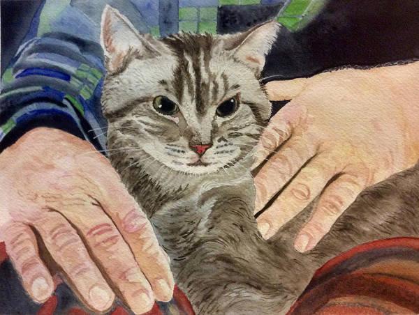 Painting - Loves Lap by Sonja Jones