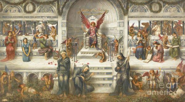 Wall Art - Painting - Loves Palace, 1893 by John Melhuish Strudwick