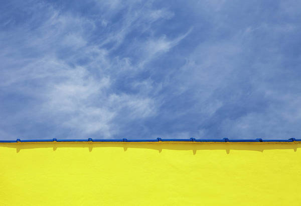 Wrightsville Beach Wall Art - Photograph - Low Angle Close Up View Of A Wall And by Sean Russell