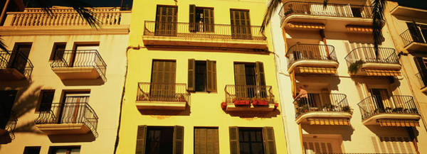 Wall Art - Photograph - Low Angle View Of A Building, Sitges by Panoramic Images