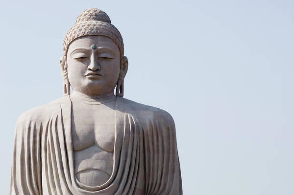 Giant Buddha Photograph - Low Angle View Of A Statue Of Buddha by Exotica.im