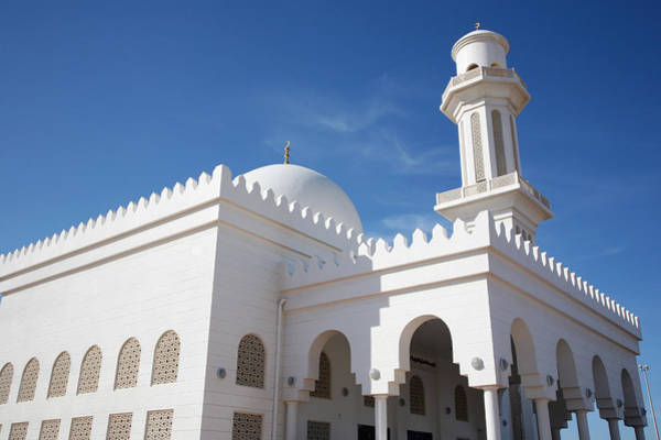 Wall Art - Photograph - Low Angle View Of Mosque Building. Umm by Sajid Shafique