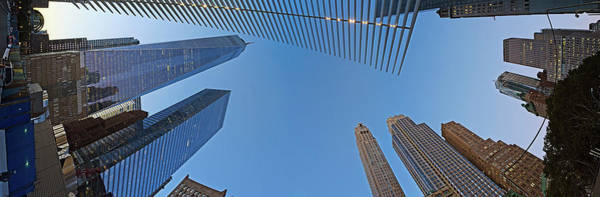 Wall Art - Photograph - Low Angle View Of Skylines, Manhattan by Panoramic Images
