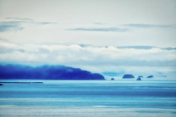 Photograph - Low Clouds On The Oregon Coast by Stuart Litoff