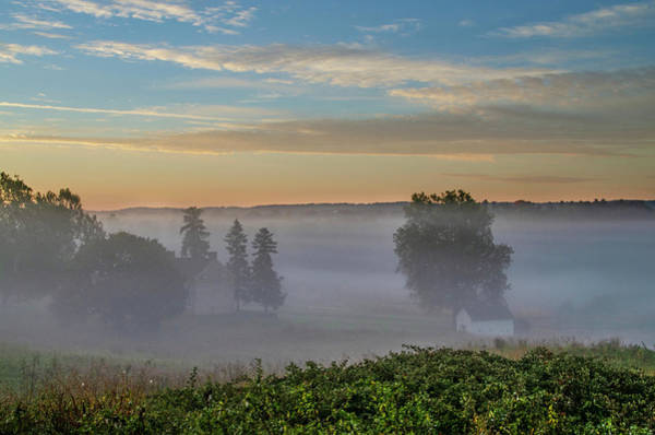 Wall Art - Photograph - Low Fog At Valley Forge by Bill Cannon