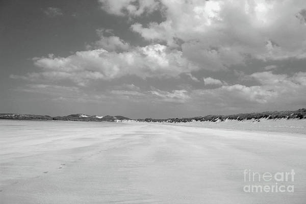 Wall Art - Photograph - Low Tide Bw Donegal by Eddie Barron