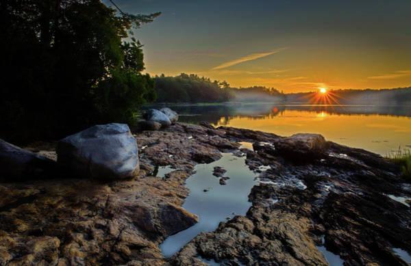 Casco Bay Photograph - Low Tide by Joe Gazzarato Photography