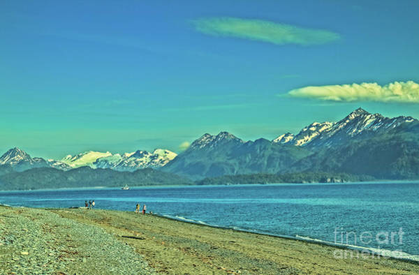 Wall Art - Photograph - Low Tide On Homer Spit by Robert Bales