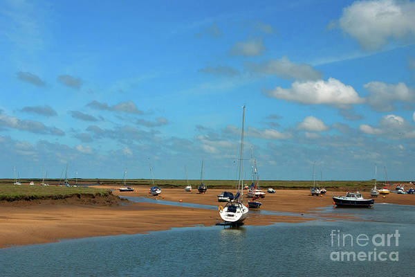 Wall Art - Photograph - Low Tide, Wells Next The Sea by John Edwards