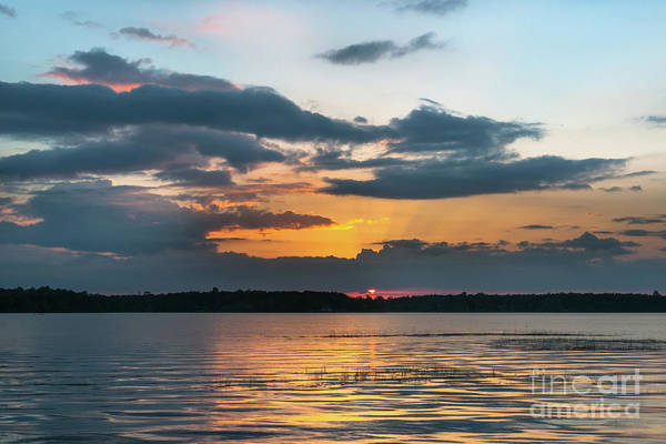 Photograph - Lowcountry Southern Exposure - Wando River Sunset by Dale Powell