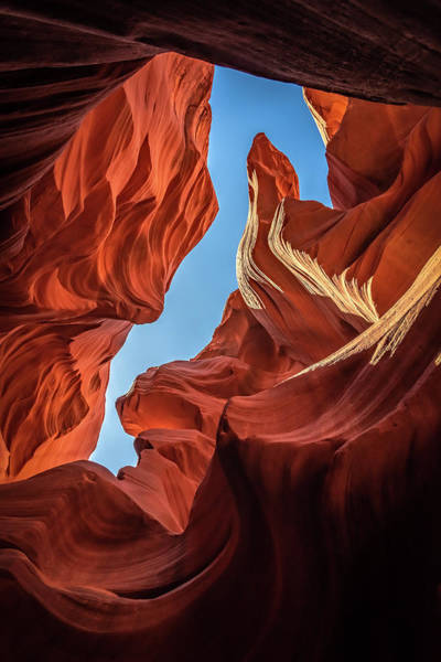 Photograph - Lower Antelope Canyon Seahorse by Brenda Jacobs