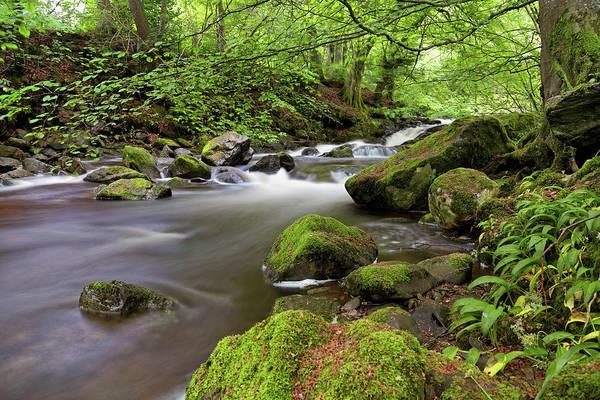 Photograph - Lower Birks Of Aberfeldy - Perthshire - Scotland by Jason Politte