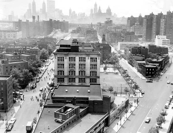 East Side Photograph - Lower East Side, On The Left Is Madison by New York Daily News Archive