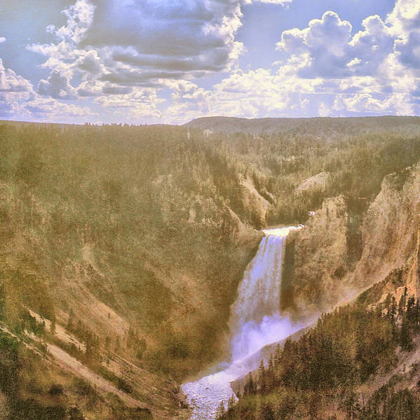 Photograph - Lower Falls Circa 1970 by JAMART Photography