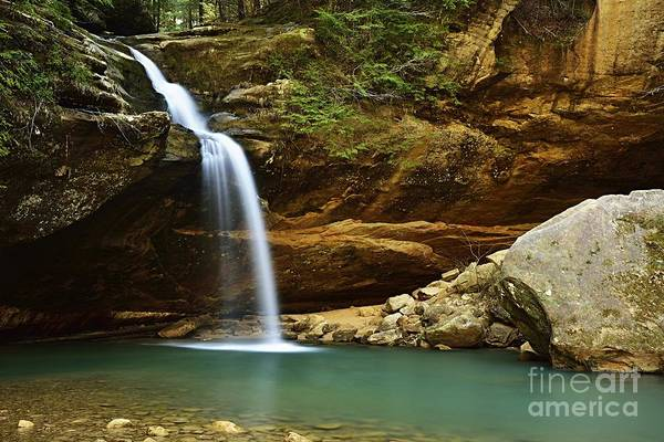 Photograph - Lower Falls by Larry Ricker